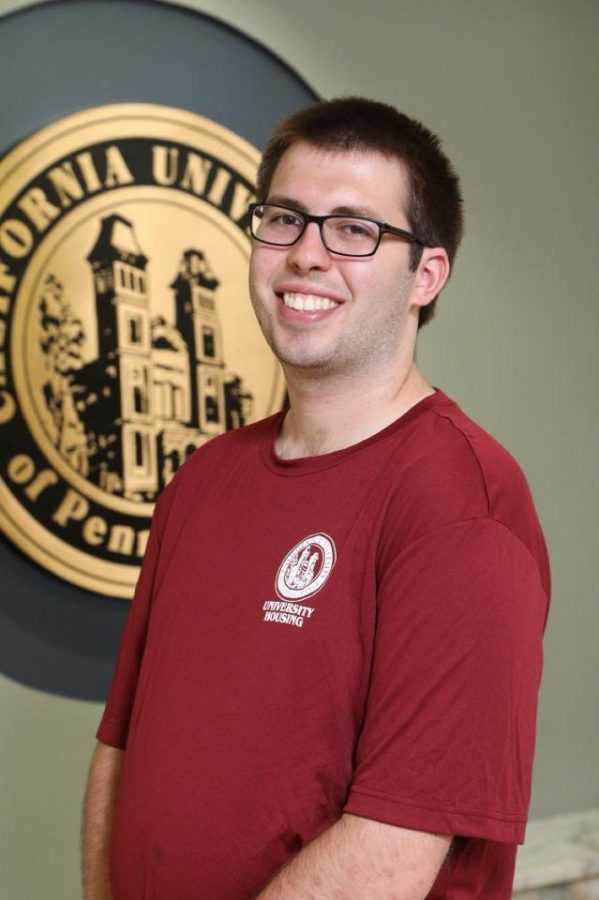 Chris Lisle, '21, majoring in political science