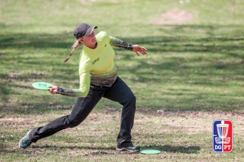 World champion Sarah Hokom talks to CUTV about life as a professional disc golfer