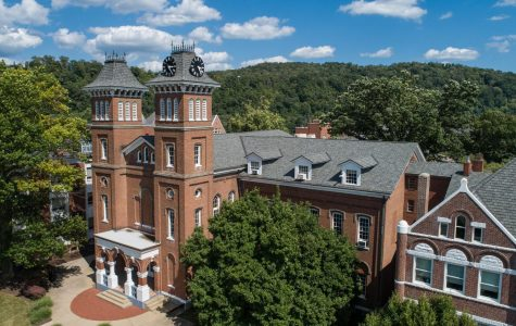Old Main at California University of Pennsylvania