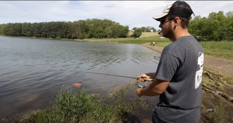 "CUTV fishing expert Trevin ""TK"" Keteles shows how to get ready to fish, and then puts the line in the water for some fishing action!"