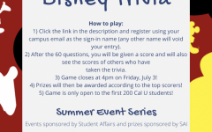 Summer series: Disney Trivia!