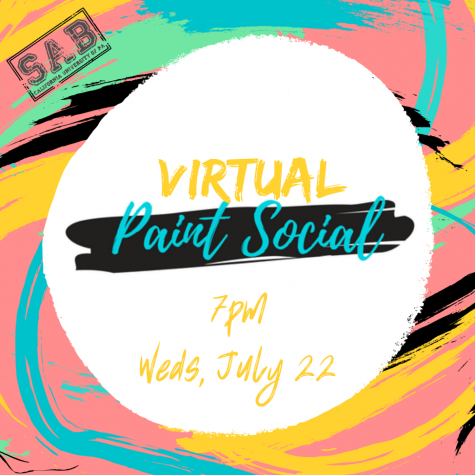 Virtual Paint Social for Cal U Students, July 22