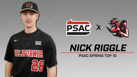 Baseball: Riggle selected to PSAC Spring Top 10