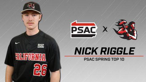 Baseball: Riggle selected to PSAC Spring Top 10