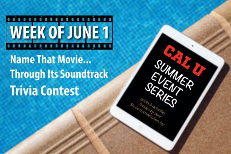 Movie trivia contest part of Cal U Summer Event Series, sponsored by The Student Association, Inc.