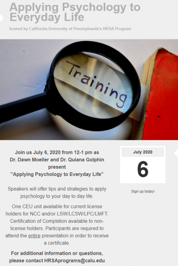 %22Applying+Psychology+to+Everyday+Life%22+Summer+Series+event+hosted+by+Cal+U%27s+HRSA+Program