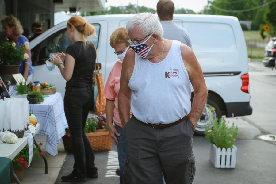 The Greater Washington County Food Bank Farmers' Market is a fundraising event that helps promote local farmers.