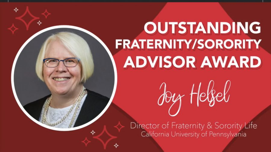 Joy Helsel, California University of Pennsylvania's director of Fraternity and Sorority Life, is honored by Alpha Sigma Alpha, July 25, 2020