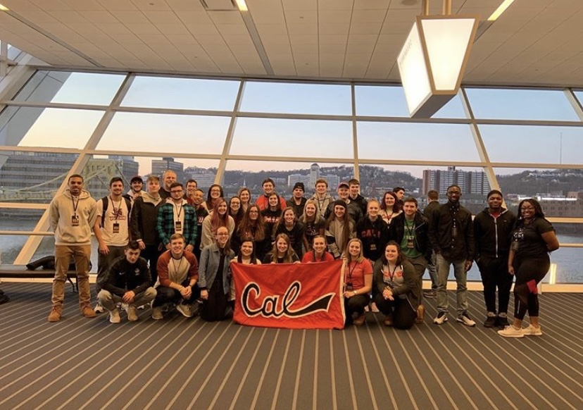 STAND members and Cal U students at Jubilee in February 2020.