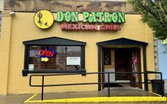 A street side view of the new Don Patron Mexican Restaurant at 227 Wood Street, California, Pa.
