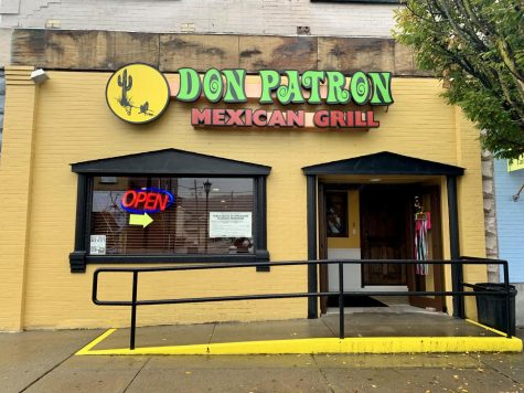 The front view of the new Don Patron Mexican Restaurant at 227 Wood Street, California, Pa.