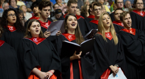 The Cal U Choir (photo courtesy of Cal U website, c. 2019)