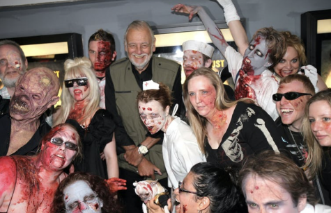 Filmmaker George Romero at the premiere of 'Survival of the Dead' in 2010.