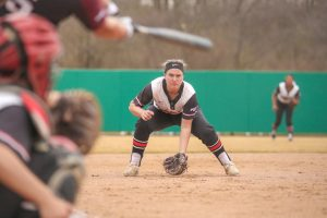 FILE: California University of Pennsylvania softball team, April 7, 2019
