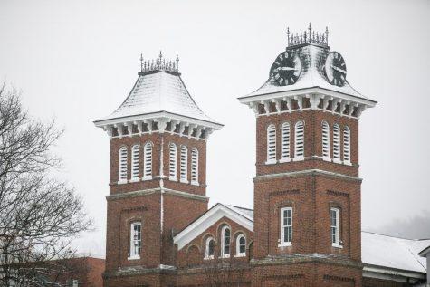 Old Main, California University of Pennsylvania, Dec. 1, 2020.