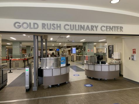 Gold Rush Dining Menu - Monday, Feb. 8 to Sunday, Feb. 14, 2021