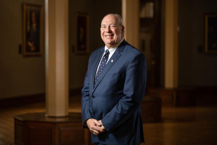Interim University President Robert J. Thorn