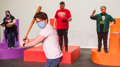 Cal U theatre majors write, direct and act in two one-act plays March 26-28