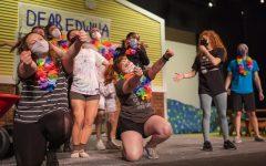 A scene from Cal U Theatres spring musical Dear Edwina