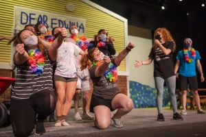 A scene from Cal U Theatre's spring musical