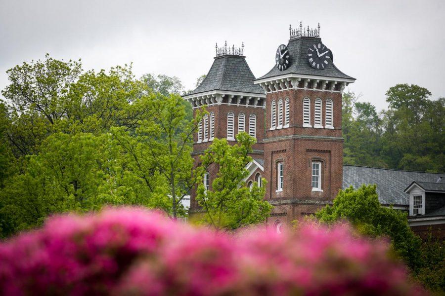 Old Main, California University of Pennsylvania, May 2021.