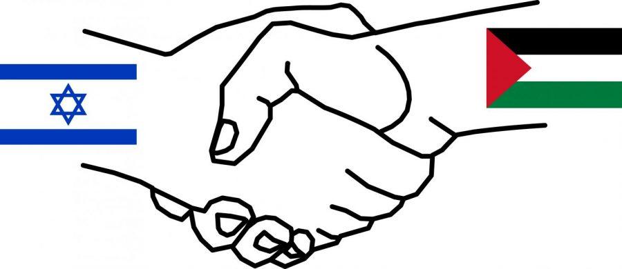 Israel-Palestine+handshake+symbol