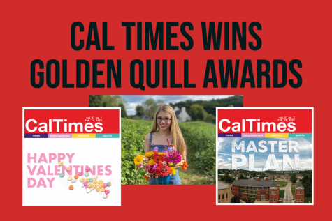 Cal Times wins two first-place awards for student journalism in the 57th Golden Quill Awards presented by the Press Club of Western Pennsylvania