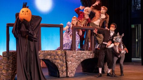 First-year students at Cal U will present The Legend(s) of Sleepy Hollow at 7 p.m. Oct. 21-23 and 2 p.m. Oct. 23-24, 2021