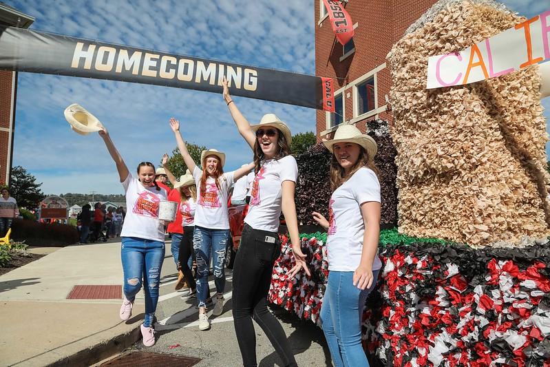Cal U Homecoming Parade, Oct. 2, 2021