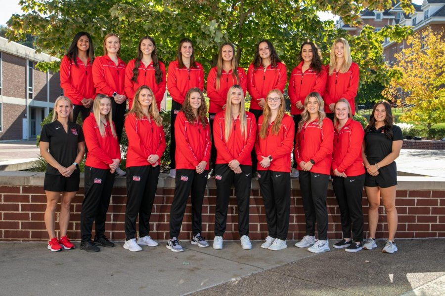California University of Pennsylvania swimming team, Oct. 20, 2021