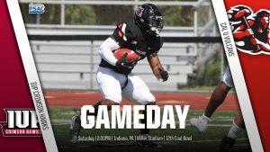 California University of Pennsylvania football team faces IUP in the annual Coal Bowl, Oct. 23, 2021